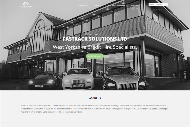 Fast Track Solutions Website